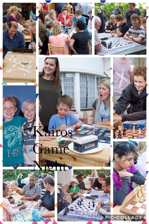 A wonderful, fun evening of board games. So wonderful to spend the time with such fabulous people. #Kairos #school #events