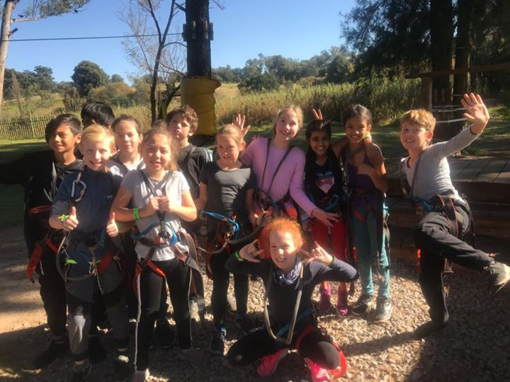Kairos Grade 3's, 4's and 5's took part in a fabulous and fun outing this week. They went Acrobranching! #kairos #outings #school