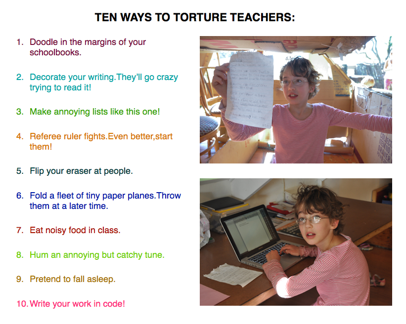 Guide to Torturing Teachers