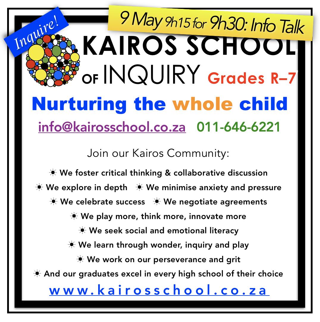 Contact Kairos School